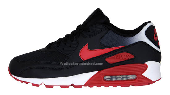 nike air max red black 3 crop