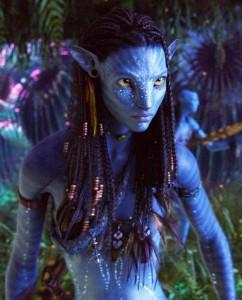 Avatar Neytiri Zoe Saldana 242x300