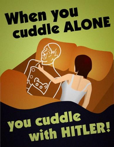 Cuddle Hitler