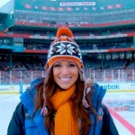 Carrie Milbank at the Winter Classic