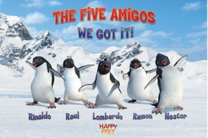 Happy Feet fivr e 300x199