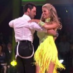 Erin Andrews Debuts on Dancing with the Stars