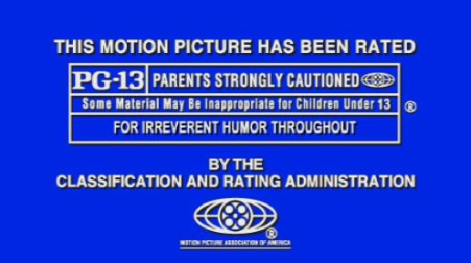 MPAA ratings
