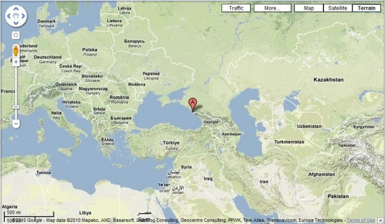 Sochi Map 560x326