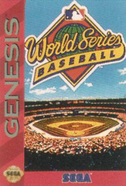 World Series Baseball 1994 Coverart