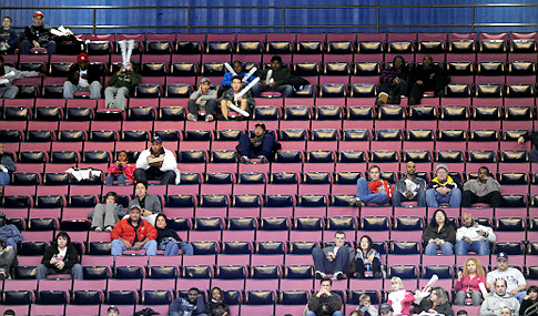 alg nets empty seats