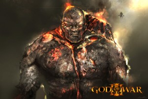 god of war iii fire titan 300x202