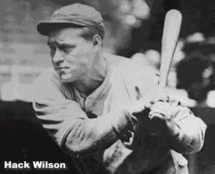 hack wilson chicago cubs