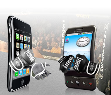 iphone vs android ufc