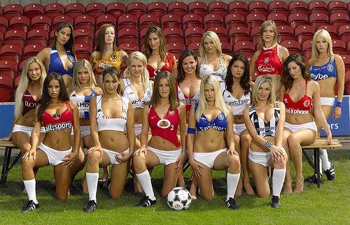 sexy football wags