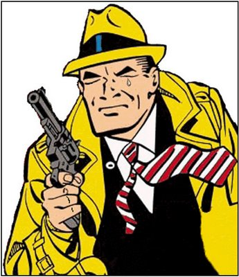 Dick Tracy Crying