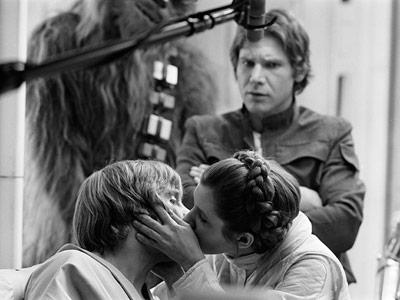 Star Wars Leia Hamill kiss 400