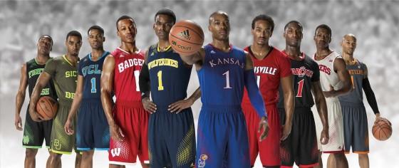 adidas 2014 march madness basketball uniforms 1 560x235
