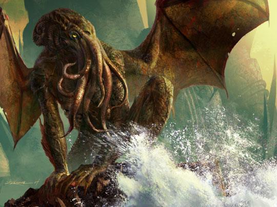 kraken cthulhu