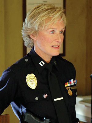 glenn close as lapd cop