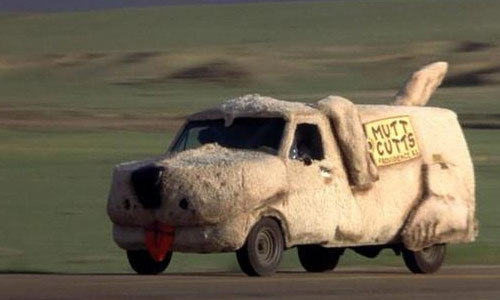 mutt cuts car