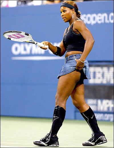 serena williams denim