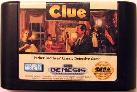 Clue Genesis Cartridge