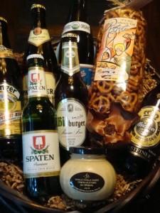 German Lager Beer Basket Large 225x300