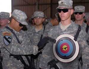 Soldier Target 300x232
