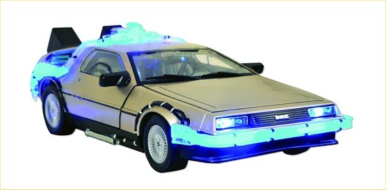 bttf replica toy car 2009