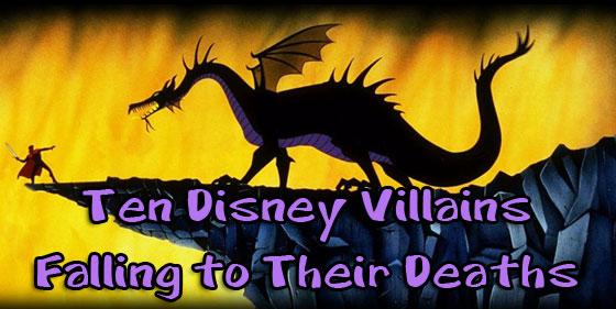 disney falling deaths villains
