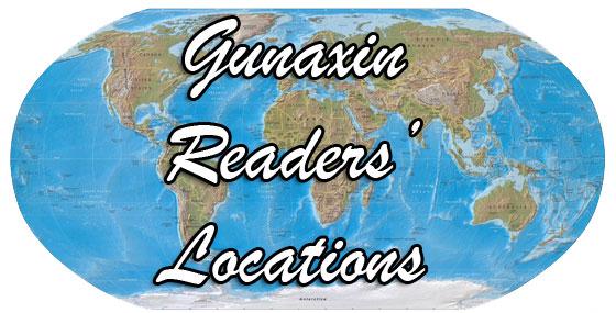 gunaxin map