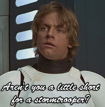 luke Stormtrooper