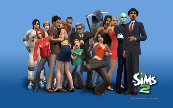 the sims 2 560x350