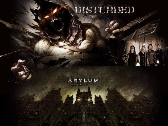 Asylum Disturbed by DarknessBliss 560x420