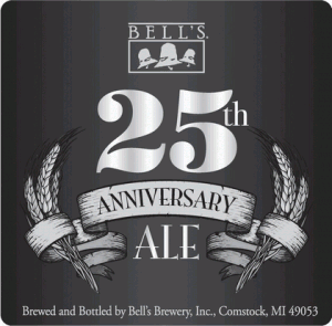 Bells 25 Anniversary Label 300x295