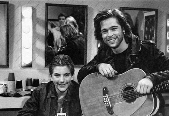 Brad Pitt on Growing Pains 560x384