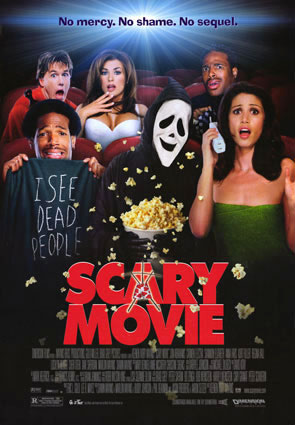Movie poster for Scary Movie
