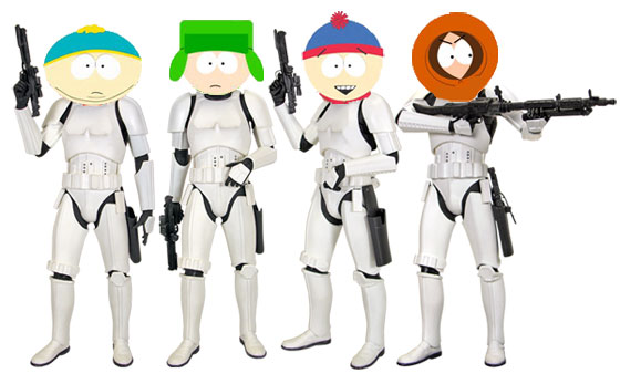 southpark stormtroopers