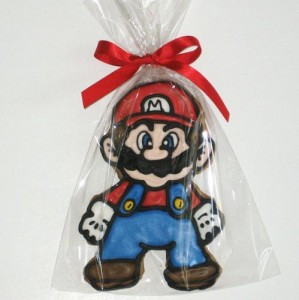 Mario Hand decorated Cookie 299x300