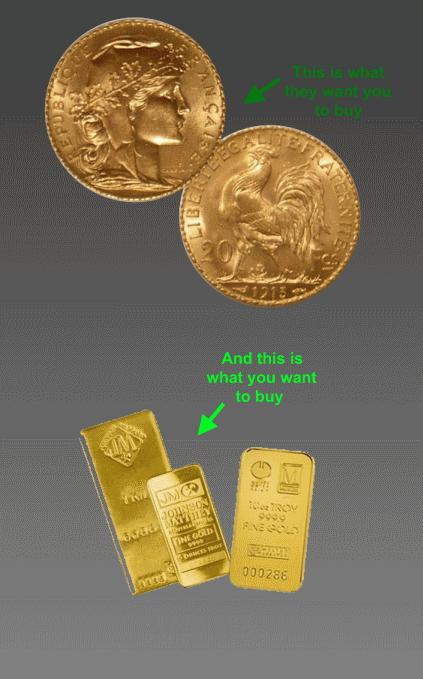 coins vs bullion