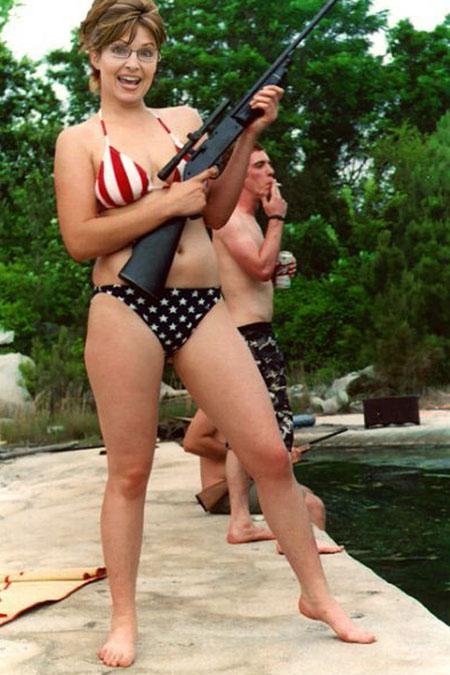 fake sarah palin in bikini
