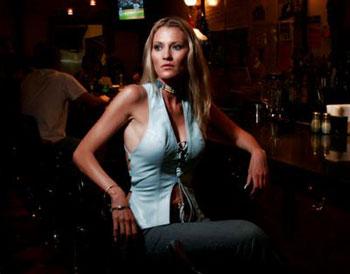 girl at bar