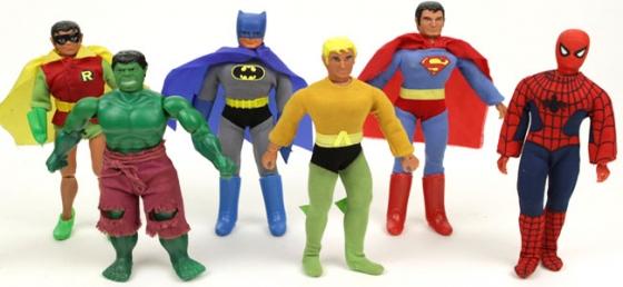 Mego Superheroes 560x258