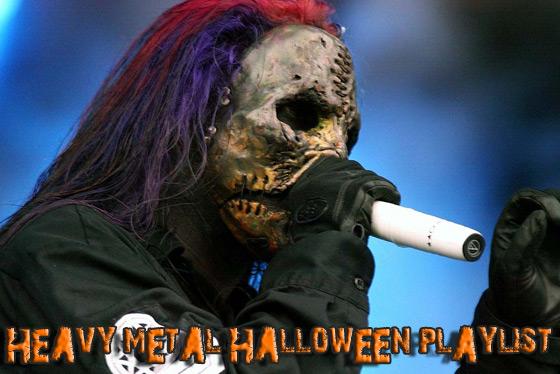 heavy metal halloween playlist