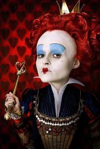 helena bonham carter as the red queen 202x300
