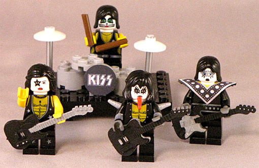 kiss lego minifigs