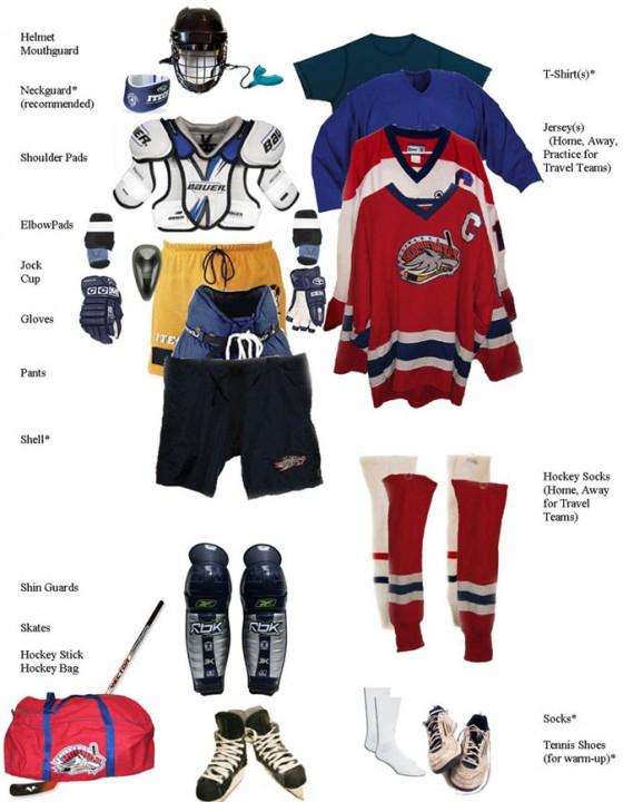 Hockey Equipment 560x720
