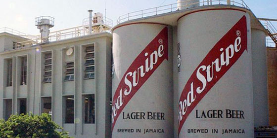 Red Stripe Brewery