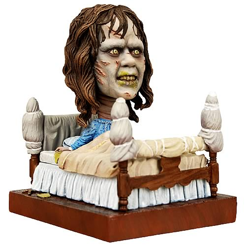 regan bed scene from exorcist bobble head