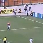 Roberto Carlos Scores from a Corner Kick