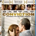 Conviction on DVD and Blu-ray