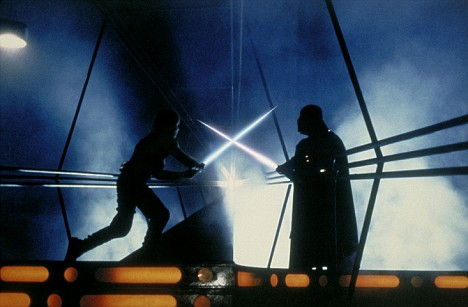 lightsaber duel