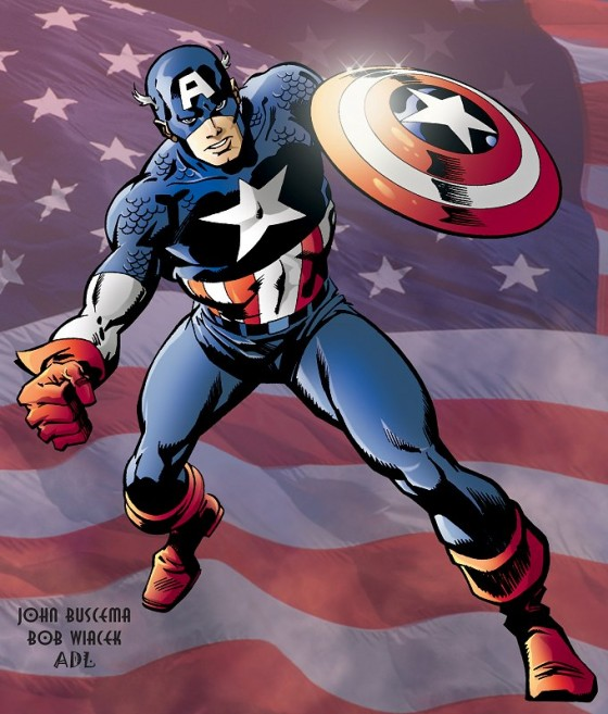 Captain America 560x657
