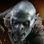 Sideshow's Black Orc of Mordor Statue